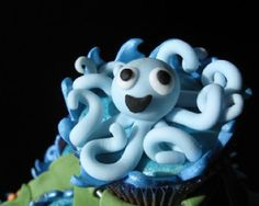 Gluten Free Under the Sea Sweets Ocean Party Decorations, Artisan Cake Company, Beach Cakes, Themed Cupcakes, Baking Cupcakes, World Best Photos, Under The Sea, Octopus, Special Day