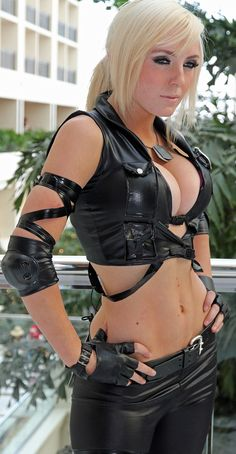 Jessica Nigri I don't know the character but for some reason I don't think that matters.