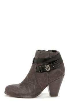 Hmm, a bit like something I'd wear with the right outfit. http://www.lulus.com/products/madden-girl-sulleyy-black-belted-high-heel-ankle-boots/109426.html