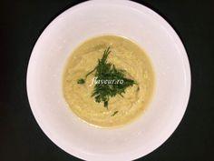 SUPA CREMA DE DOVLECEL CU USTUROI VERDE Thai Red Curry, Soup, Ethnic Recipes, Green, Fine Dining, Soups