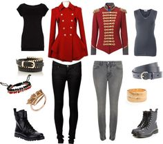 """Outfit inspired by P.O from Block B, stage and music video outfit for """"Nillili Mambo""""    More Outfits on I Dress Kpop"""