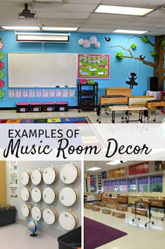 10 Great Examples of Music Classroom Decor - Mrs. Miracle's Music Room