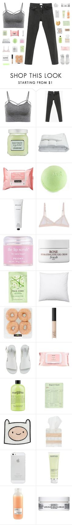 """""""I did my best"""" by ready-to-run-away ❤ liked on Polyvore featuring Laura Mercier, Frette, Neutrogena, Rodin Olio Lusso, Hoff By Hoff, Sara Happ, Fresh, H&M, NARS Cosmetics and Melissa"""