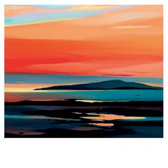 Incandescent Skies III - Mounted Limited Edition