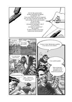(TCC) Quadrinhos Nacionais: Uma Perspectiva Estrangeira (UNIVAP), arte/texto de Carlos Campos Pg83