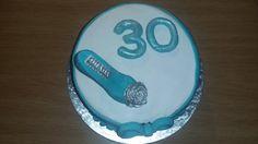 30th birthday cake 30 Birthday Cake, Baking, Desserts, Food, Tailgate Desserts, Deserts, 30th Birthday Cakes, Bakken, Essen