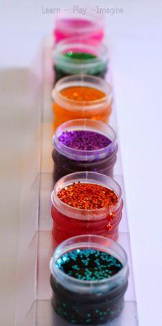 Glitter paint recipe