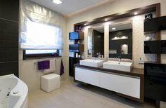 modern yet functional bathroom