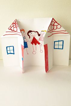 Young children love talking about their families and this simple origami house craft is a fabulous tool for inviting conversation about families and how they are unique. The origami house is simple to make, requiring just five folds, but children will often require assistance with making the folds. Be guided by the age and …