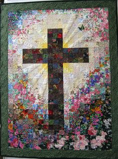 The Beauty of the Cross - Spiritualelegteam Treasury by Kimberli ... : cross patch quilting - Adamdwight.com