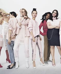 ELLE Editorial: Re-Think Pink