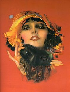 Rolf Armstrong    http://thecatsandtheberries.blogspot.co.uk/2011/09/artist-feature-rolf-armstrong.html