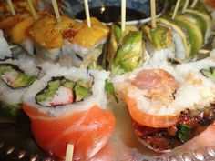 #yummy Sushi  #miamicorporateevents #miamievents #food #delicious #miamicatering  Sf catering n events