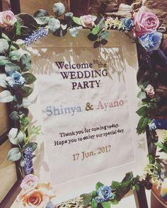 結婚式のウェルカムボードの最旬デザインまとめ | marry[マリー]