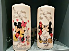 Family Disney  candle #candelepersonalizzate