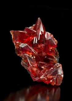 Rhodochrosite  N'Chwaning I Mine, South Africa  7cm  Photographed for The Arkenstone