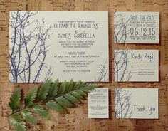 Naked trees as border, but switch to a classic font