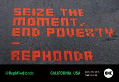 SEIZE THE MOMENT, END POVERTY - REPHONDA