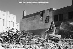 This was  a demolition I shot back In  May 2012 In Downtown Dallas taken with a film camera after my digital camera died