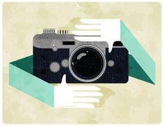 Lovely camera illustration by Tracy Thanh Tran // Veer Ideas - Tumblr #camera