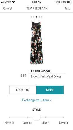 Don't love the pattern, but like the maxi dress style Stitch Fix Maxi, Stitch Fix Outfits, Stitch Fix Stylist, Dress Me Up, Style Me, Style Inspiration, Style Ideas, Stylists, Knitting