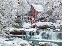 Glade Creek Grist Mill in WV...I love this place in all the sesson, but esp in the autmn