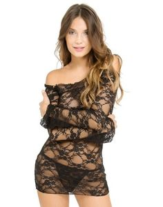 sleeved chemise, adore me