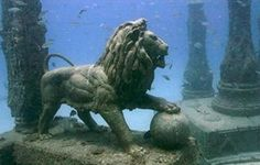 Thonis-Heracleion - Cidade egípcia encontrada embaixo d'água                                                                                                                                                                                 Mais