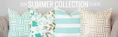 gorgeous pillow covers // Goods by Grinn, Etsy