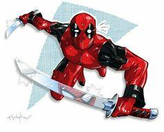#Deadpool #Fan #Art. (Deadpool) By: Franchesco. (THE * 5 * STÅR * ÅWARD * OF: * AW YEAH, IT'S MAJOR ÅWESOMENESS!!!™) [THANK U 4 PINNING!!!<·><]<©>ÅÅÅ+(OB4E)