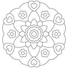 Mandalas bring relaxation and comfort to adults all over the world. Mandalas are one of our favorite things to color. Kids can color them too! We have some more simple mandalas for kids to color. Mandalas for Kids Coloring Pages For Girls, Animal Coloring Pages, Coloring Pages To Print, Free Printable Coloring Pages, Free Coloring Pages, Coloring For Kids, Coloring Books, Simple Coloring Pages, Fairy Coloring