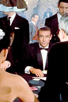 Sean Connery as James Bond in Dr. No, 1962.