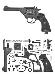 Анатомии псто : семь пистолетов и один револьвер основных воюющих стран в ВМВ: sassik