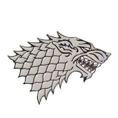 Game of Thrones House Stark Sigil I'm loving this.