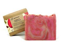Raspberry Vanilla Soap Handmade Soap Vegan by SimpleHomeAccents