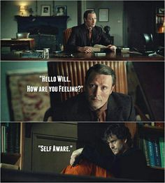 Haahhaha why is this funny Hannibal Quotes, Hannibal Funny, Hannibal Tv Series, Nbc Hannibal, Hannibal Lecter, Funny Cartoon Memes, Kid Memes, Funny Quotes, Funny Books For Kids