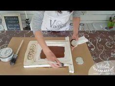 Creare una lavagna con la Vintage Paint - VIDEO TUTORIAL parte 2 - vintagepaint