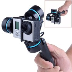 3-axis Brushless Handheld Gimbal Handle Camera Mount for GoPro 3  3+  4