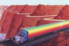 世界上最有愛的顏色是什麼?彩虹大事記
