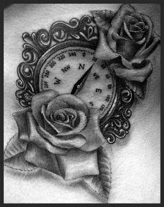 my black & gray tattoo.... in black & gray. haha <3 Tattoo Artist: Eris Qesari The Constable Tattoo Parlor Plainfield, IL