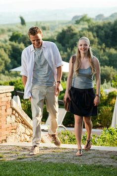 Letters to Juliet - The ONLY romance movie that I have ever liked, and even LOVED!! ;)