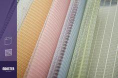 #Icecream #sky #lightgreen #orange #pink #black #linenivory #persianas #bengala #monsterblinds #decoracion #interiores #diseño  #blinds #design #interiordesign #sheerblinds