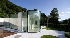 Glass House by JM Architecture — Lake Lugano, Italy