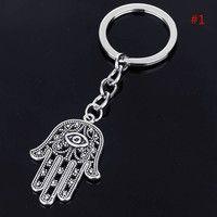 Wish | Charm Fatima Hand Hamsa Pendant Chain Keychain Keyring Keyfob Jewelry Gift