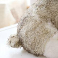 / Husky Doll плюшевые ойыншықтар Simulation Puppy brinquedos Иттер мүсіні Home Decorations Жоғары сапалы плюшевые мата Xmas Gift