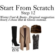 A fashion look from December 2014 featuring beige waterfall coat, sexy knee high boots and h&m gloves. Browse and shop related looks. Core Wardrobe, Wardrobe Basics, New Wardrobe, Capsule Wardrobe, Wardrobe Ideas, French Minimalist Wardrobe, Minimalist Closet, Waterfall Coat, Classy Yet Trendy