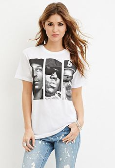 Hip Hop Graphic Tee | Forever 21 - 2000181274