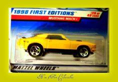 Hot Wheels 670 Mustang Mach 1 1998 $4.05