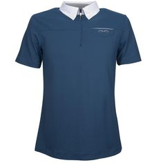 Het #Animo #Aliante #heren #wedstrijdshirt heeft aan de voorzijde een klein siervakje met daarop het Animo logo geborduurd. Het wedstrijdshirt is voorzien van een ritssluiting. www.divoza.com