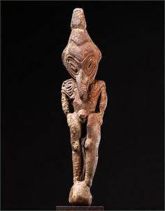 Ancestor Figure - Ramu, Lower Sepik River, Papua New Guinea (1800 - 1900)